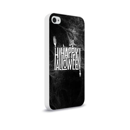Чехол для Apple iPhone 4/4S soft-touch  Фото 02, Happy Halloween