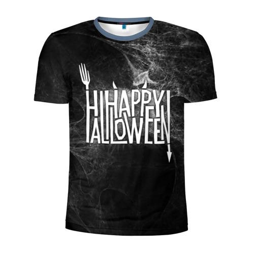 Мужская футболка 3D спортивная Happy Halloween Фото 01