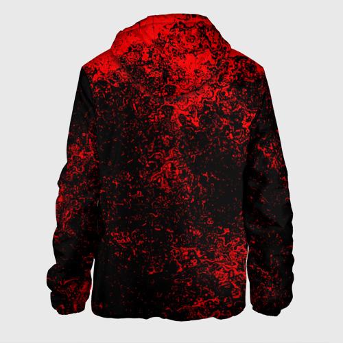 Мужская куртка 3D  Фото 02, Брызги красок(red style)