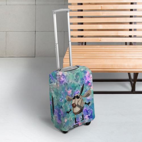 Чехол для чемодана 3D  Фото 03, happy birthday