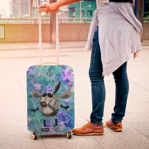 Чехол для чемодана 3D  Фото 04, happy birthday