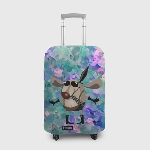 Чехол для чемодана 3D  Фото 01, happy birthday