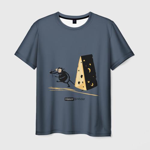 Мужская футболка 3D  Фото 01, День рождения