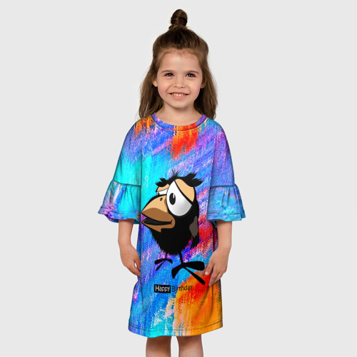 Детское платье 3D  Фото 01, birthday gift?