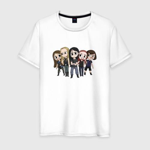 Мужская футболка хлопок Metalocalypse (Dethklok) 16