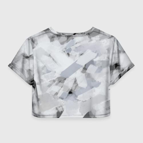 Женская футболка 3D укороченная  Фото 02, Scorpions