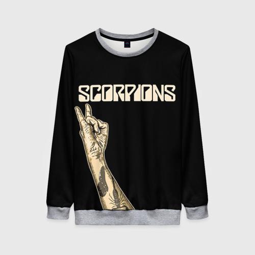 Женский свитшот 3D Scorpions Фото 01