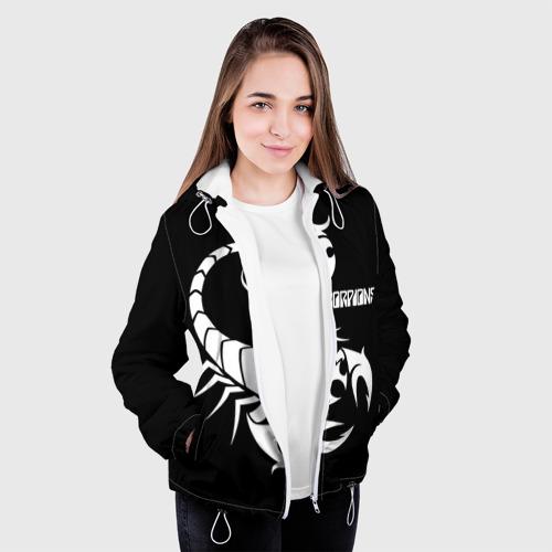 Женская куртка 3D  Фото 04, Scorpions