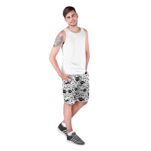 Мужские шорты 3D  Фото 03, Кошачий принт