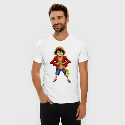 Мужская футболка премиум  Фото 03, Ван-Пис