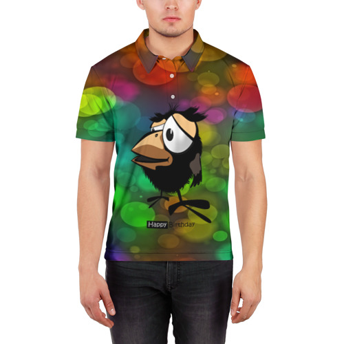 Мужская рубашка поло 3D  Фото 03, birthday party