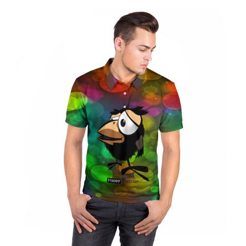 Мужская рубашка поло 3D  Фото 05, birthday party