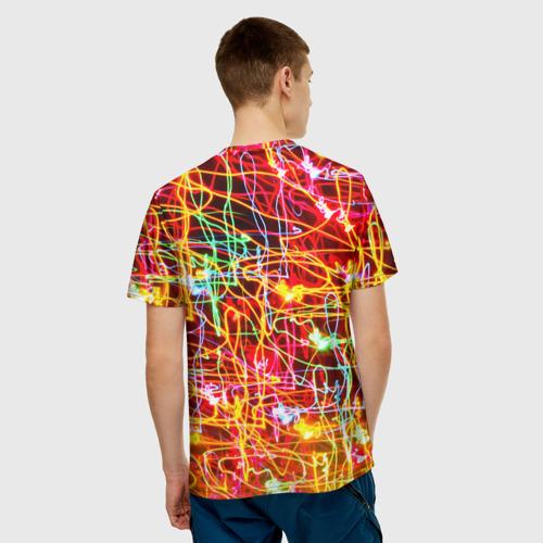 Мужская футболка 3D  Фото 02, Light creative