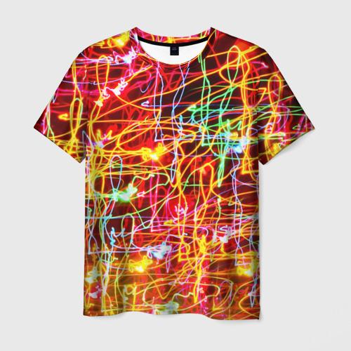 Мужская футболка 3D  Фото 01, Light creative