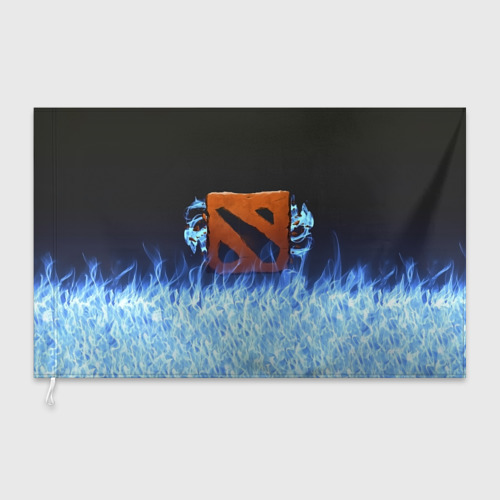Флаг 3D  Фото 03, Пламя Дота
