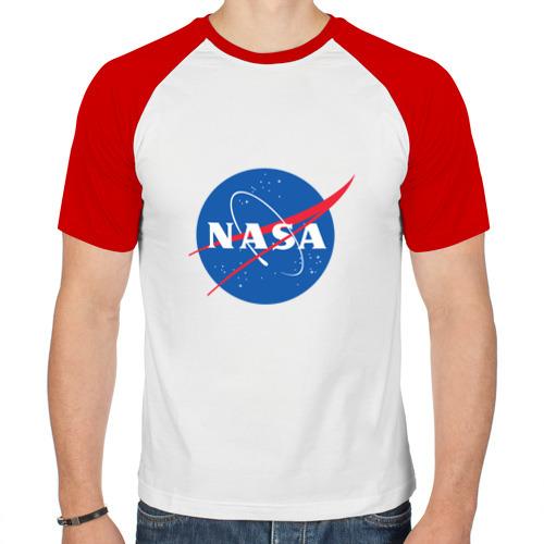 Мужская футболка реглан  Фото 01, Nasa