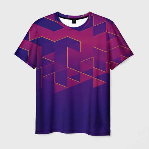 Мужская футболка 3D  Фото 03, Absraction night