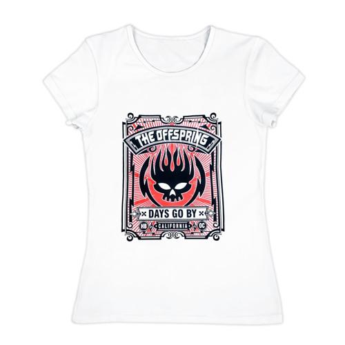 Женская футболка хлопок  Фото 01, The Offspring - Days Go BY