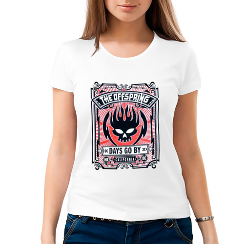 Женская футболка хлопок  Фото 03, The Offspring - Days Go BY