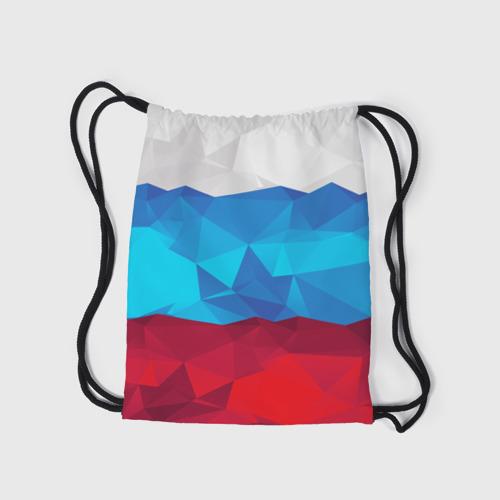 Рюкзак-мешок 3D  Фото 05, Полигональный флаг России