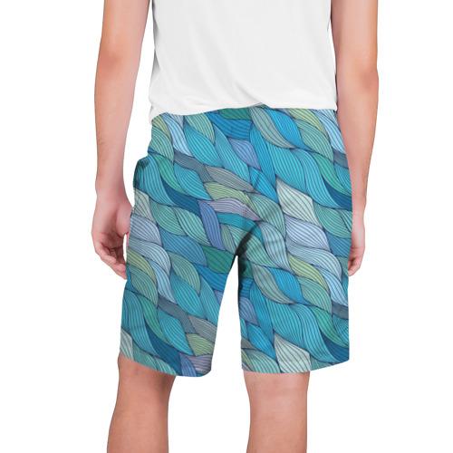 Мужские шорты 3D  Фото 02, Волны
