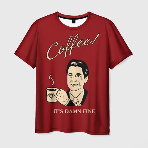 Мужская футболка 3D  Фото 03, Coffee