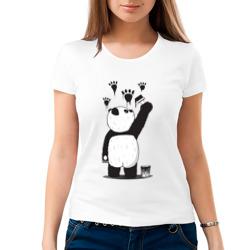 Панда наследил