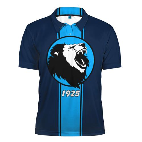 Мужская рубашка поло 3D  Фото 01, Сила льва