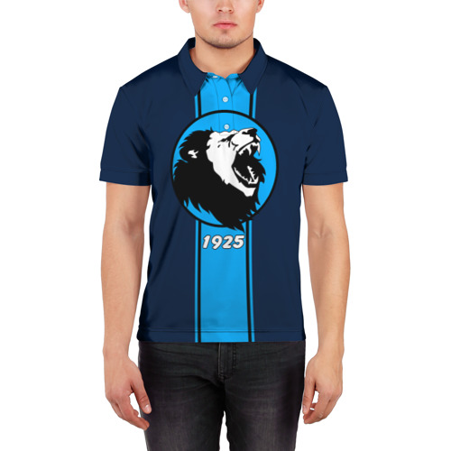 Мужская рубашка поло 3D  Фото 03, Сила льва