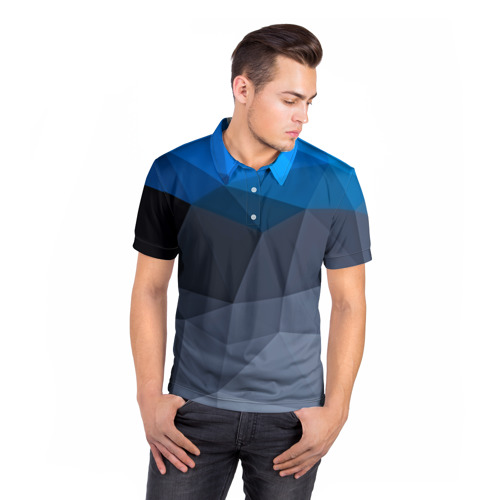 Мужская рубашка поло 3D  Фото 05, Still abstract