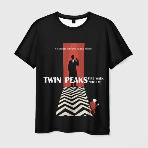 Мужская футболка 3D  Фото 03, Twin Peaks
