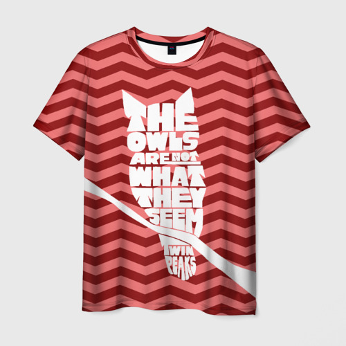 Мужская футболка 3D  Фото 01, Owl