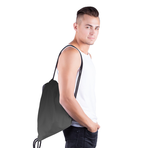 Рюкзак-мешок 3D  Фото 03, Carbon