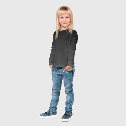 Детский лонгслив 3D  Фото 04, Carbon