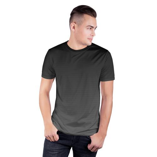 Мужская футболка 3D спортивная Carbon Фото 01