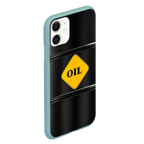 Чехол для iPhone 11 матовый Oil Фото 01