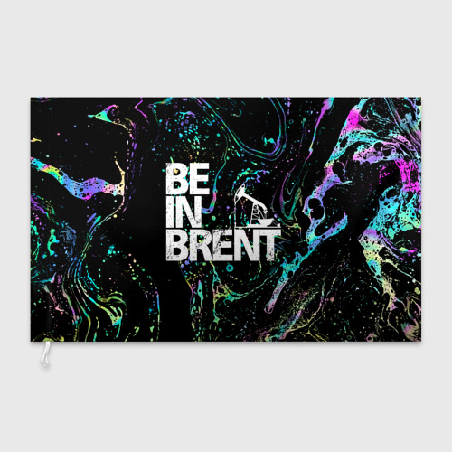 Флаг 3D  Фото 03, Be in brent