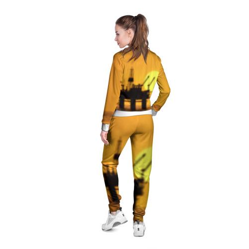 Женская олимпийка 3D  Фото 04, Закат