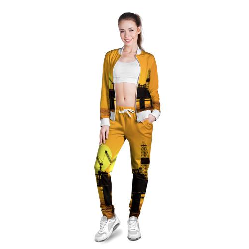 Женская олимпийка 3D  Фото 03, Закат