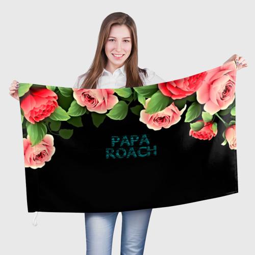 Флаг 3D  Фото 01, Papa Roach