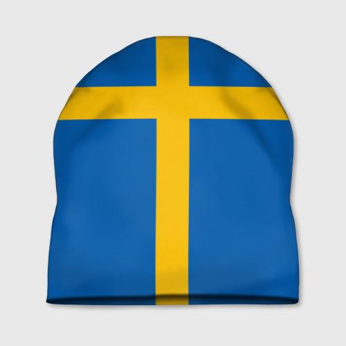 Шапка 3D Флаг Швеции