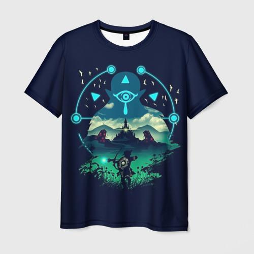 Мужская футболка 3D  Фото 03, The Legend of Zelda