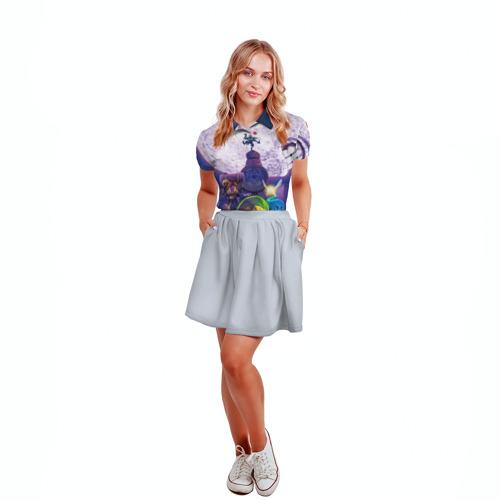 Женская рубашка поло 3D  Фото 04, The Legend of Zelda