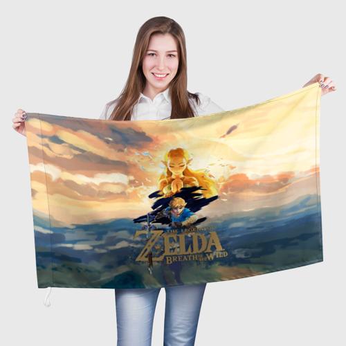 Флаг 3D  Фото 01, The Legend of Zelda