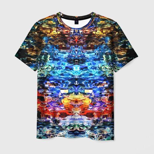 Мужская футболка 3D  Фото 01, Психоделика