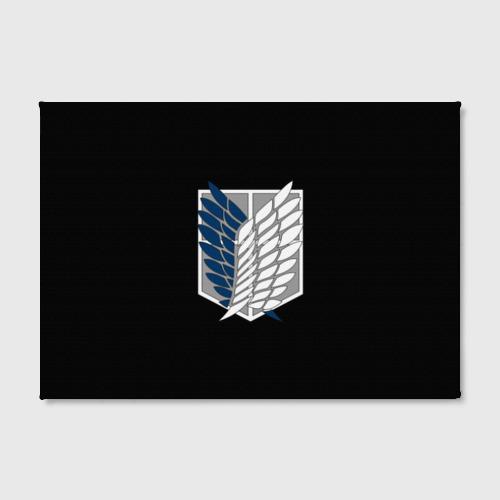 Холст прямоугольный Атака Титанов (эмблема) #5 Фото 01