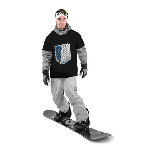 Накидка на куртку 3D  Фото 03, Атака Титанов (эмблема) #5