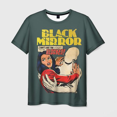 Мужская футболка 3D  Фото 03, Black Mirror