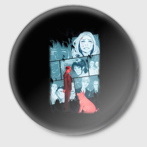 Значок Black Mirror Фото 01