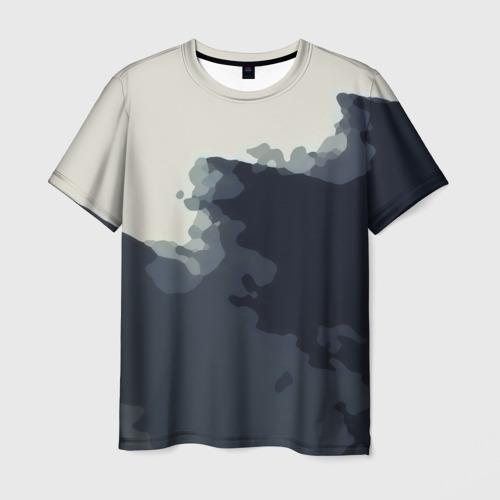 Мужская футболка 3D  Фото 03, Брызги